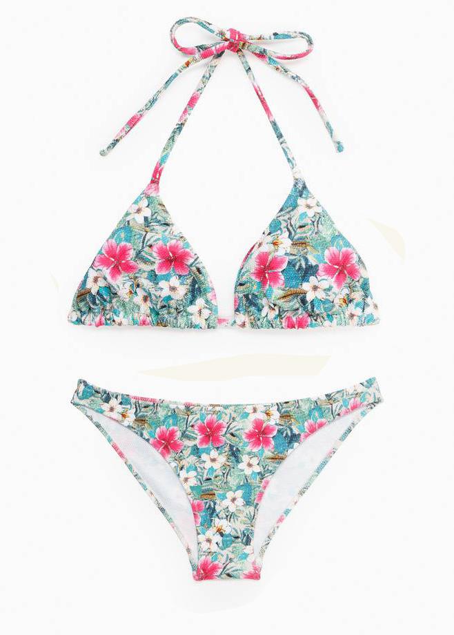 bikini stampa a fiori mango