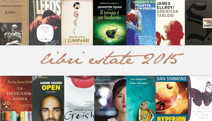 Libri da leggere: 10 libri +4 che metterò in valigia