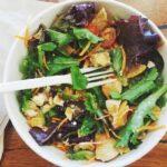 Insalata di mela verde e Speck, un pranzo veloce e light