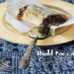 Strudel di pere e cioccolata, facile e delizioso