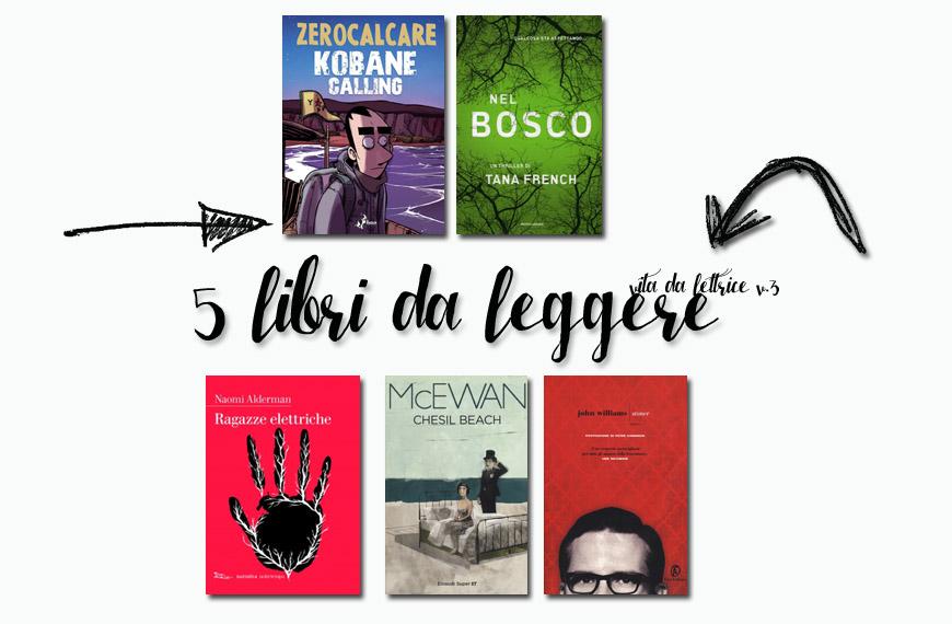 5 libri da leggere in primavera