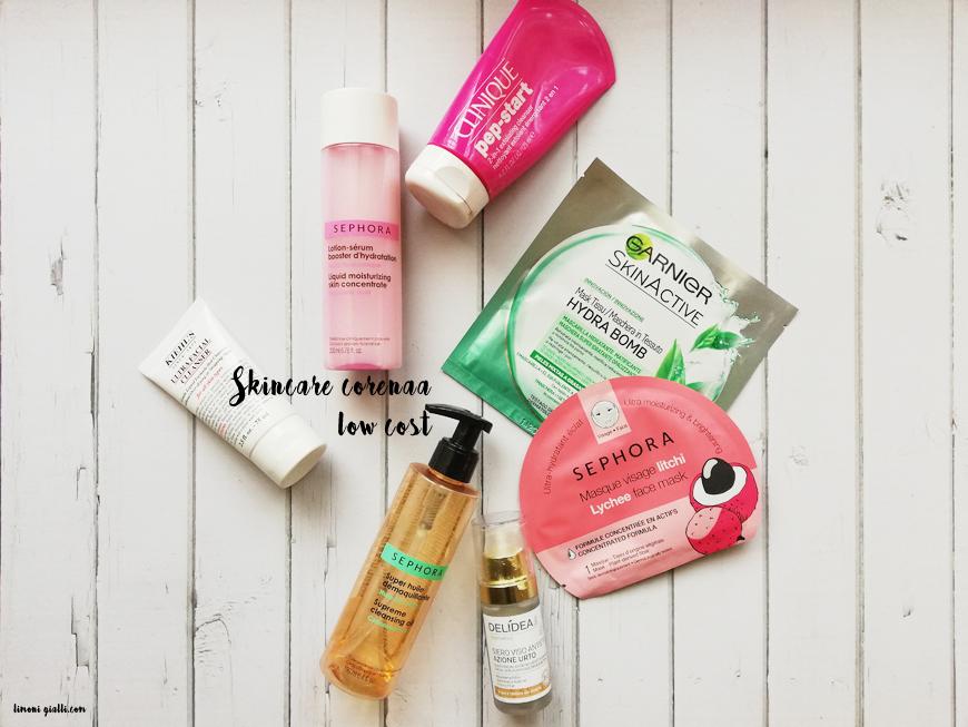 Skincare Coreana low cost: 18 prodotti testati (da me) a meno di 20 euro